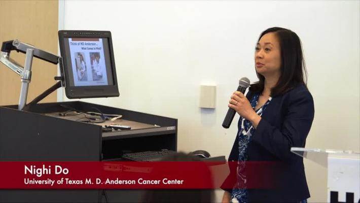 MD Anderson Cancer Center presentation