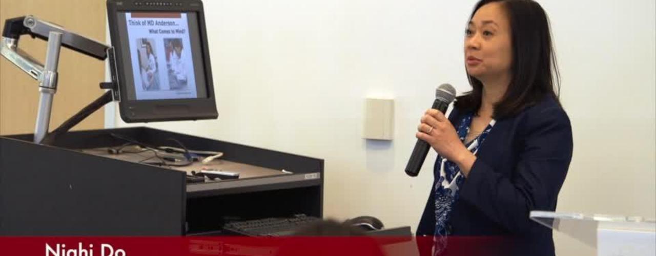 MD Anderson Cancer Center presentation