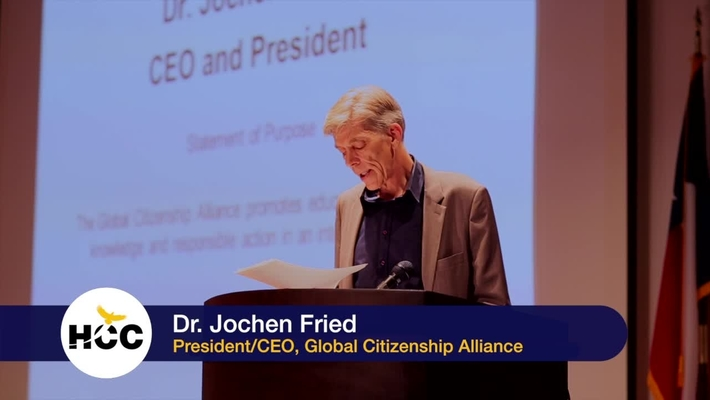 Ms. Gigi Do discusses Global Citizenship for Higher Education