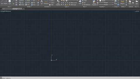 Autocad Introduction Workspace (2016)