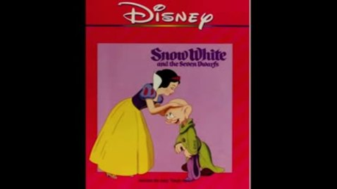 Snow White and the Seven Dwarfs - Disney Read Along (Book and Record)