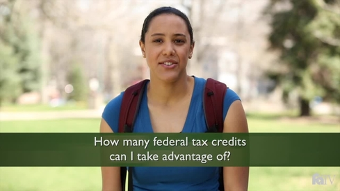 How many federal tax credits can I take advantage of?