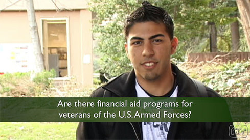 Are there financial aid programs for Veterans of the US Armed Forces?