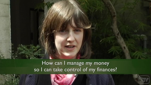 How can I manage my money so I can take control of my finances?