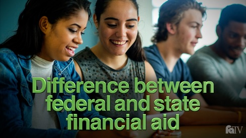 Is there a difference between federal and state financial aid programs?