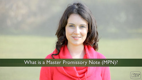 What is a Master Promissory Note?