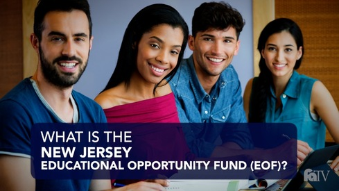 What is the New Jersey Educational Opportunity Fund (EOF)?