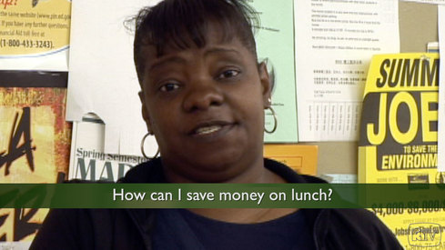 How can I save money on lunch?