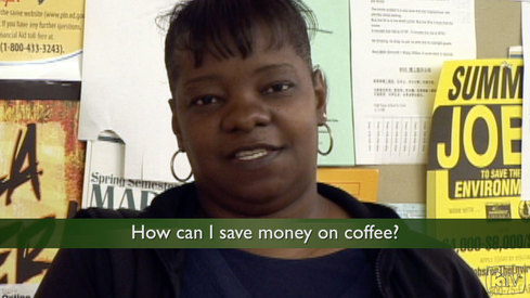 How can I save money on coffee?