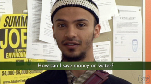 How can I save money on water?