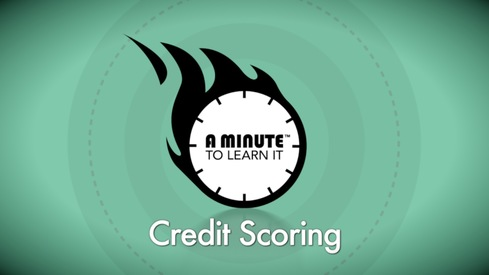 A Minute to Learn it - Credit Scoring.