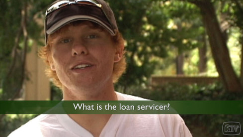 What is the loan servicer?