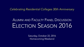 Thumbnail for entry Bucknell 360: Election Season 2016