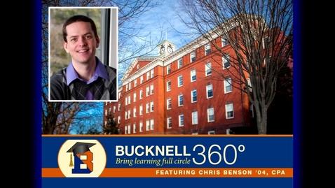 Thumbnail for entry Bucknell 360 - Money Matters