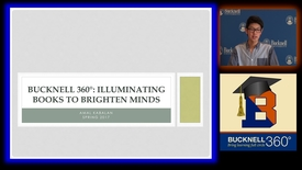 Thumbnail for entry Bucknell 360: Illuminating Books to Brighten Minds