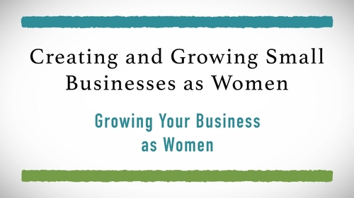 Growing Your Business as Women
