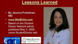 Thumbnail for entry Medical School Admissions Tutorial - Part 1