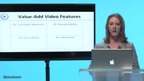 Thumbnail for entry Adding Value to Educational Video (InfoBase Learning)- KVS Clip