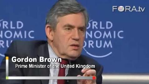 Thumbnail for entry Gordon Brown Demands Modernization of Global Finance