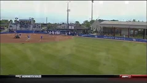 Thumbnail for entry Kentucky Upsets Georgia in Softball
