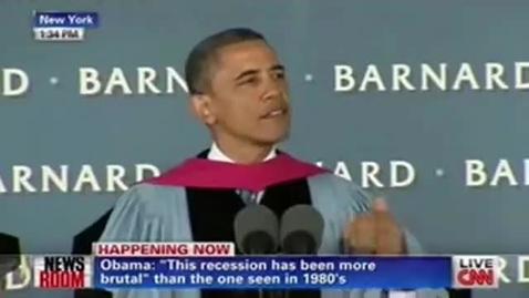 Thumbnail for entry President Obama Commencement Speech Barnard College