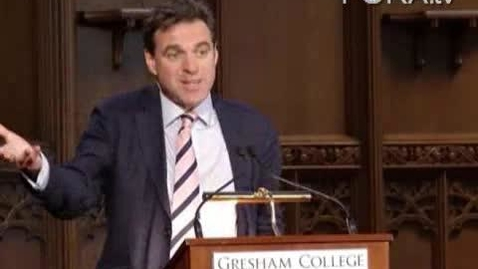 Thumbnail for entry Niall Ferguson Applies Evolutionary Theory to Finance