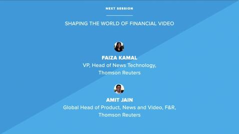 Thumbnail for entry Shaping the World of Financial Video