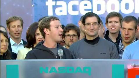 Thumbnail for entry Stock Market News: Facebook IPO