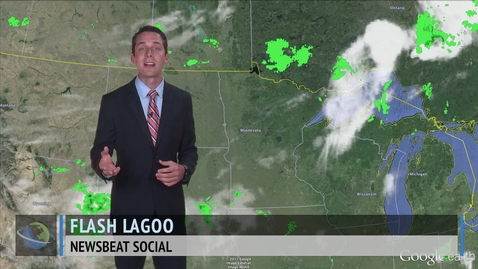 Thumbnail for entry Severe Weather Targets the Midwest Wednesday