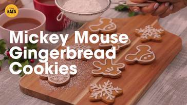 Gingerbread Mickey And Minnie Coloring Page Disney Family