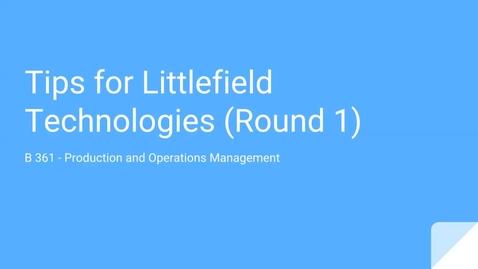 Thumbnail for entry LT1 Tips