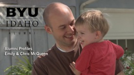 BYU-Idaho Alumni Profile: Emily & Chris McQueen