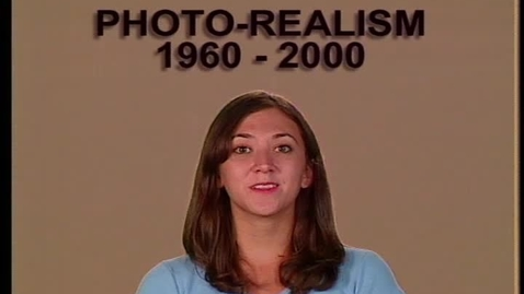 Thumbnail for entry Photo-Realism 1960-2000