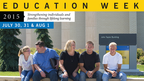 Thumbnail for entry BYU-Idaho Education Week 2015