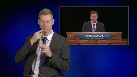 """Thumbnail for entry ASL: Brent Ashcraft - """"Run Heartily, as to the Lord"""""""