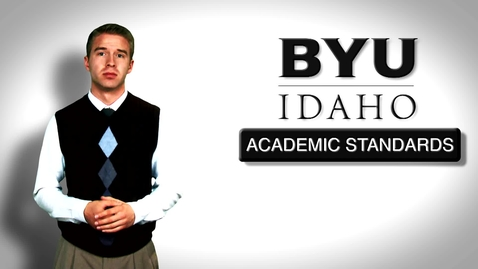 Thumbnail for entry Academic Standards