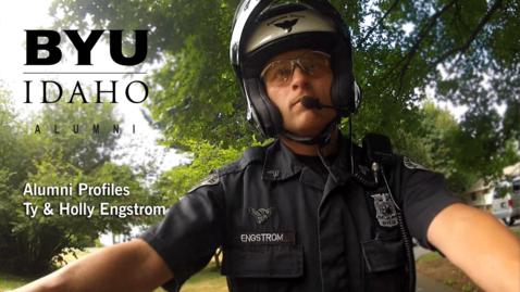 Thumbnail for entry BYU-Idaho Alumni Profile: Ty & Holly Engstrom