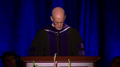 """Thumbnail for entry Henry J. Eyring - """"Fall 2017 Language & Letters College Convocation Remarks"""""""
