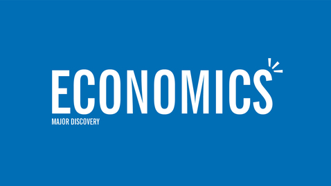 Thumbnail for entry Major Discovery: Economics