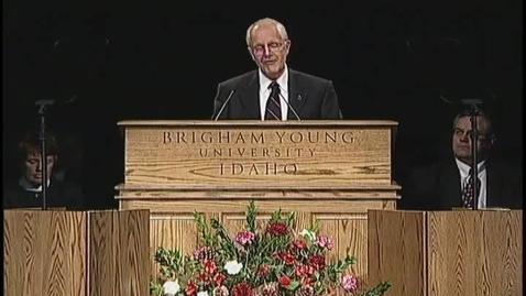 """Thumbnail for entry R. Brent Kinghorn """"A Disciple's Faith"""""""
