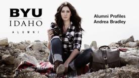 BYU-Idaho Alumni Profiles: Andrea Bradley