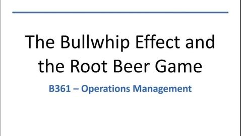 Thumbnail for entry Bullwhip and RBG