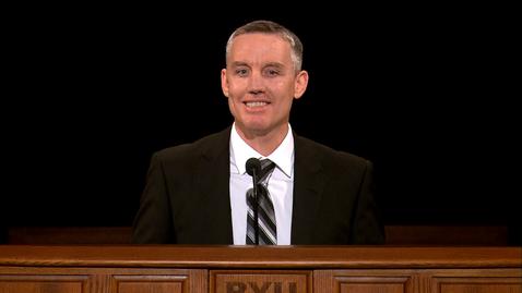 "Thumbnail for entry Shawn Jensen - ""Jesus Christ, Our Great Deliverer"""