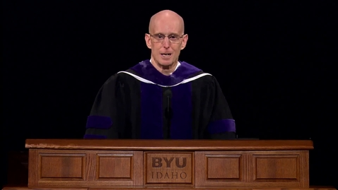 "Thumbnail for entry Henry J. Eyring - ""A Providential Leadership Paradox"""