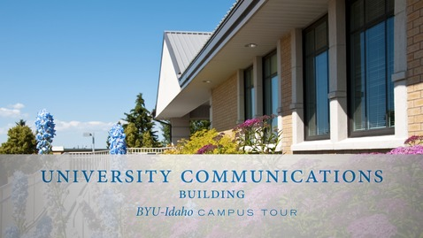 Thumbnail for entry Communications Building