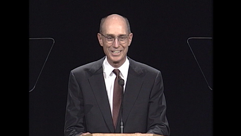 "Thumbnail for entry Elder Henry B. Eyring - ""Excerpts from 'A Steady, Upward Course' for Uncertain Times"""