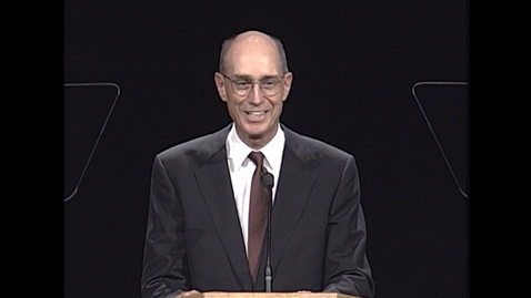 """Thumbnail for entry Elder Henry B. Eyring - """"Excerpts from 'A Steady, Upward Course' for Uncertain Times"""""""
