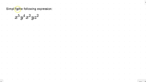 Thumbnail for entry Lesson 10 - Product Rule #6