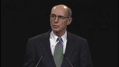 "Thumbnail for entry Henry B. Eyring ""Raise the Bar"""