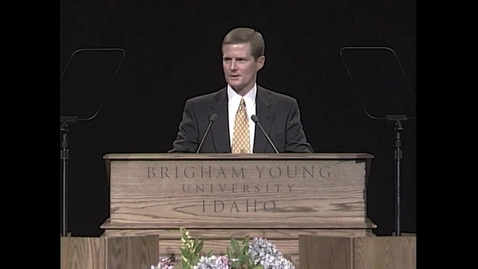 """Thumbnail for entry David A. Bednar - """"Excerpts from 'Steadfast and Immovable'"""""""